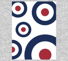 Mod Targets by 'Chillee Wilson'  One Piece - Long Sleeve
