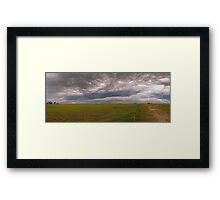 Prairie Roller Framed Print