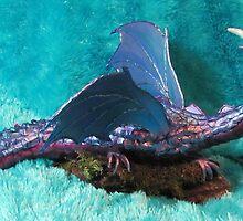 Blue Dragon by gypsywolf