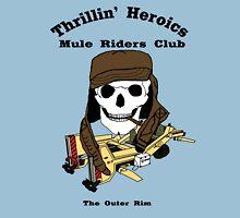 Thrillin' Heroics Mule Riders Club logo T-Shirt