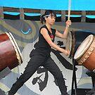 Taiko Drummer 3 by satsumagirl