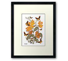 Natures Orange Framed Print