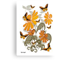 Natures Orange Canvas Print
