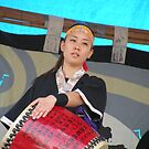 Okinawan Taiko woman by satsumagirl