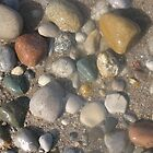 beach stones by Leeanne Middleton