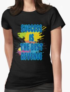 Code for Success Desig T-shirtn Womens Fitted T-Shirt