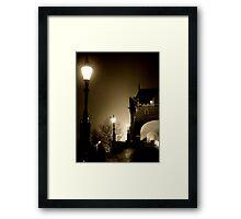 The Bridge Before Dawn Framed Print