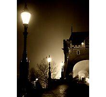 The Bridge Before Dawn Photographic Print