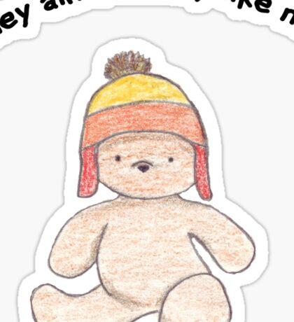 Cuddly Jayne for kids Sticker