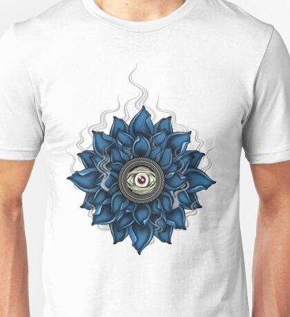 Eye of the lotus Unisex T-Shirt
