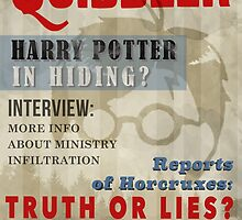 Harry Potter Quibbler Cover by sierrawheeler