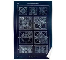 A Handbook Of Ornament With Three Hundred Plates Franz Sales Meyer 1896 0268 Enclosed Ornament Square Panel Inverted Poster