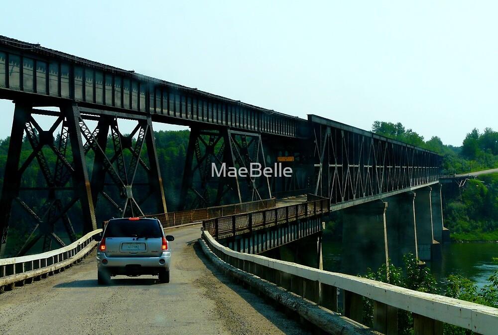 Old Nipawin Bridge,Nipawin Sask,Canada by MaeBelle