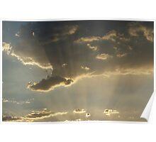Sun ray beauty Poster