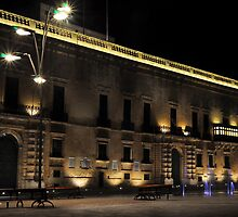 Presidential Palace Valletta MALTA by Ronald cox