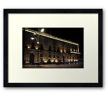 Presidential Palace Valletta MALTA Framed Print