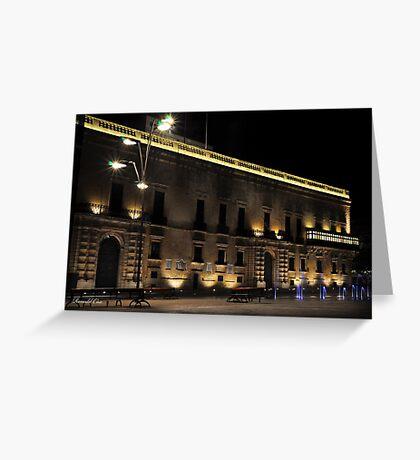 Presidential Palace Valletta MALTA Greeting Card