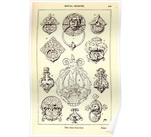 A Handbook Of Ornament With Three Hundred Plates Franz Sales Meyer 1896 0425 Metal Objects Door Knocker Poster