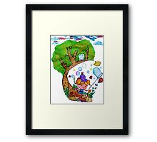 Bubble's Adventure Framed Print