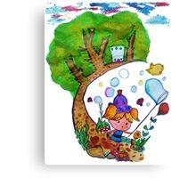 Bubble's Adventure Canvas Print
