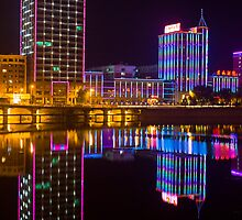 Chengde Night Lights by Karen Millard