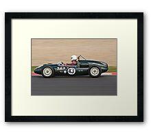 Cooper T43 (Geoff Williams) Framed Print