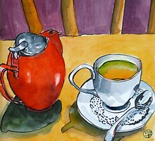 Mountain Tea at the Bodhi Tree by Evelyn Bach