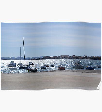 Spanish Sea Poster