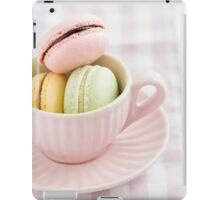 Macarons in a cup iPad Case/Skin
