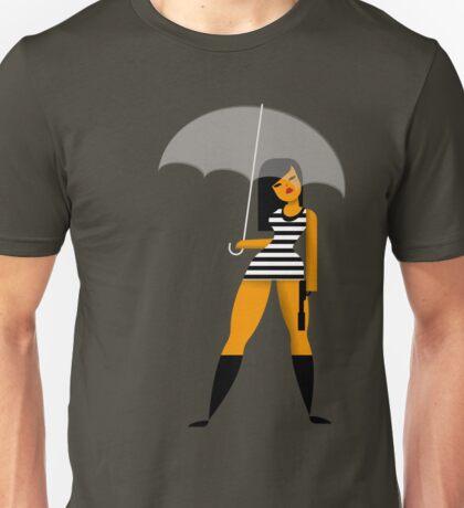 Umbrella girl Unisex T-Shirt