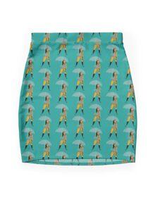 Umbrella girl Mini Skirt