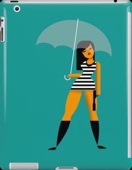 Umbrella girl by Marco Recuero
