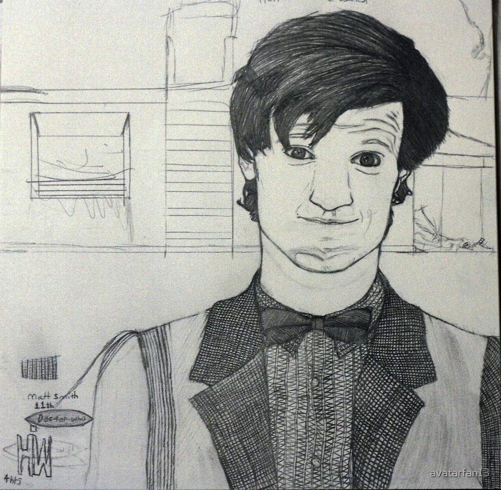 the 11th doctor W.I.P by avatarfan13