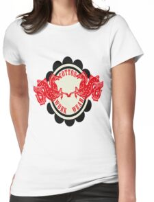 Horse Stamp Womens Fitted T-Shirt