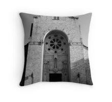 Restore in Him Throw Pillow