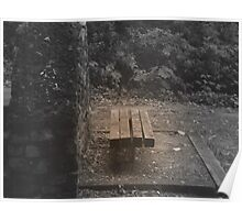 Lonely Bench! Poster