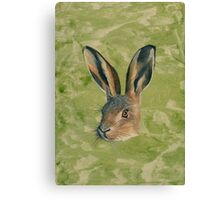 March Hare Canvas Print