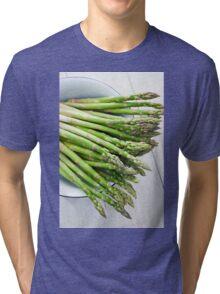Green asparagus Tri-blend T-Shirt
