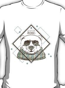 Fashion animals Bear T-Shirt