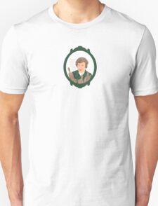 Julia Child Comic Portrait Unisex T-Shirt