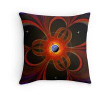 Digital Abstract Art #2 Throw Pillow