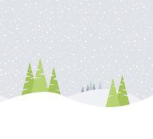 Winter Landscape by Emir Simsek