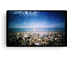 Musings on the Foreshore Canvas Print