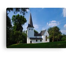Bunte Kirche Canvas Print
