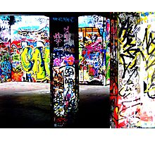 Skate Park Graffiti Photographic Print