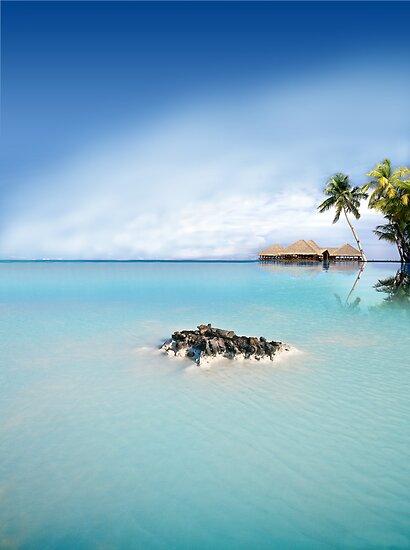 Blue Lagoon by Digital Editor .