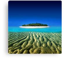 Exotic Private Island  Canvas Print