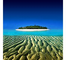 Exotic Private Island  Photographic Print