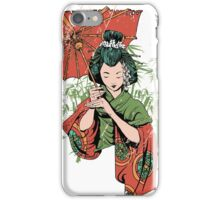 Japan girl iPhone Case/Skin