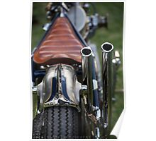 Chrome Steed  Poster